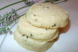 lemon-lavender shortbread