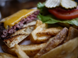 Phantom Canyon burger