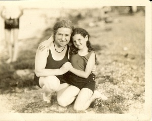 grandma and mom circa 1930